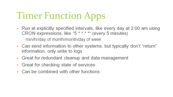 azure-functions-timer-apps